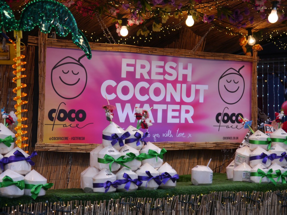 Coconut water London