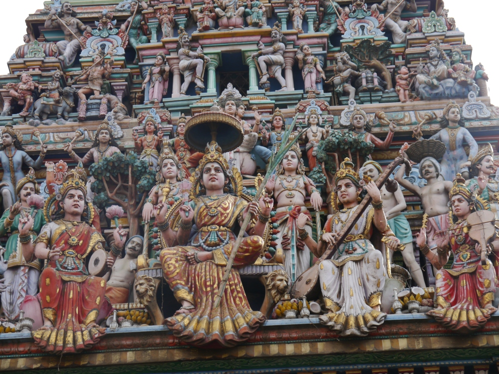 How could I walk past this temple and not take a photo of the carvings? I can't add any information on the meaning or the history, but they make a striking photo!