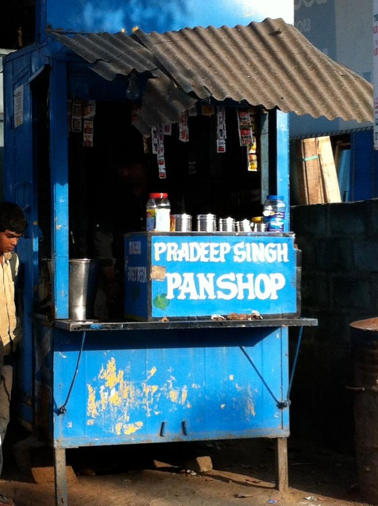 Pan shop