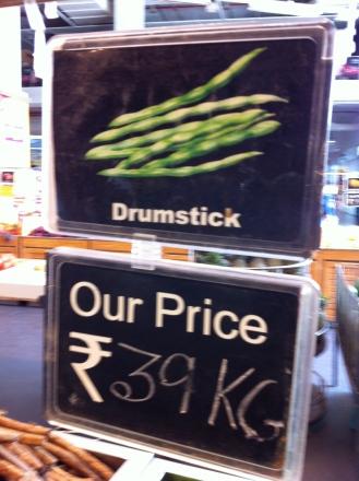 Supermarket drumstick