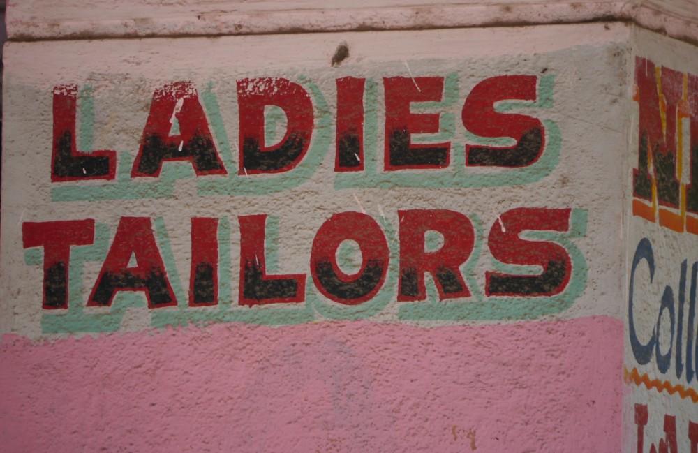 Ladies Tailors Sign