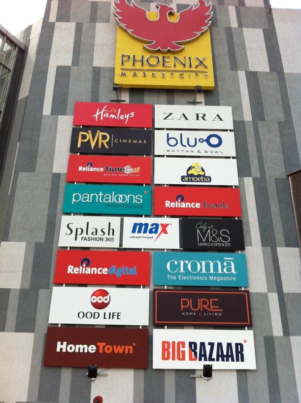 Phoenix Mall sign