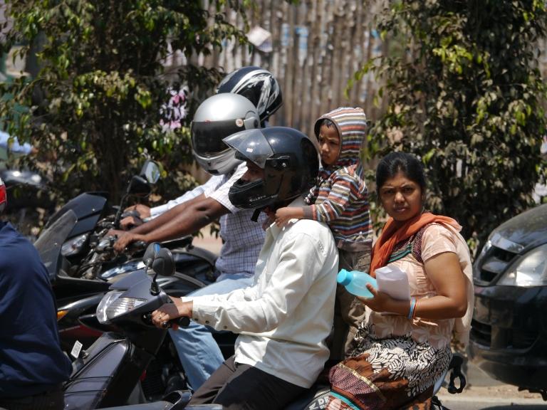 motorbike child