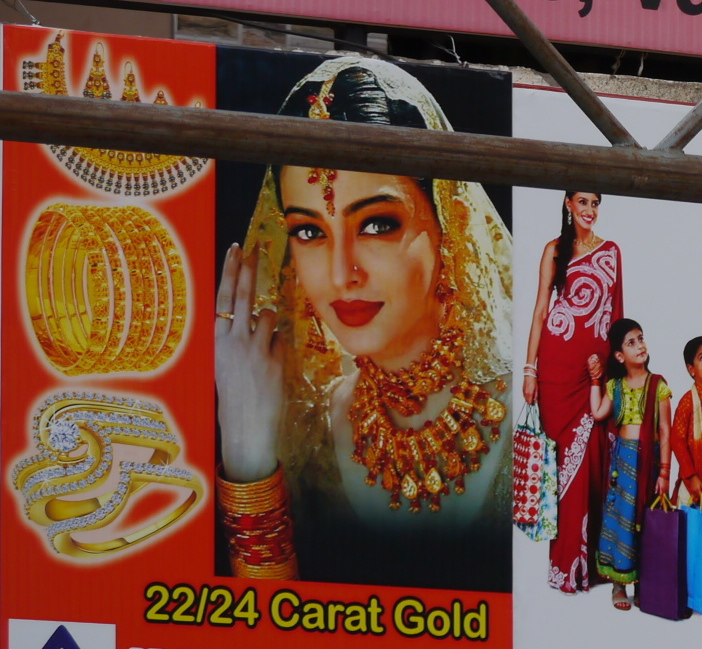 Ad for gold in Varthur