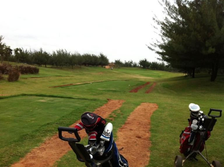 Clovergreen 9th tee