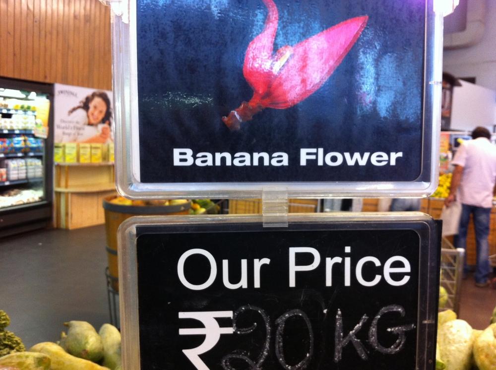 Hypercity banana flower price
