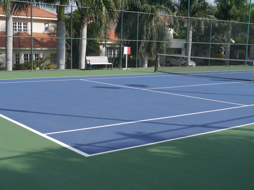 PM tennis court