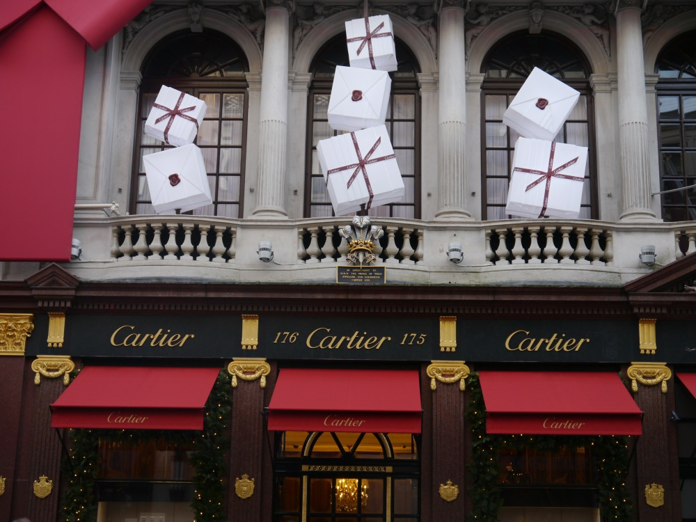 Cartier shop entrance