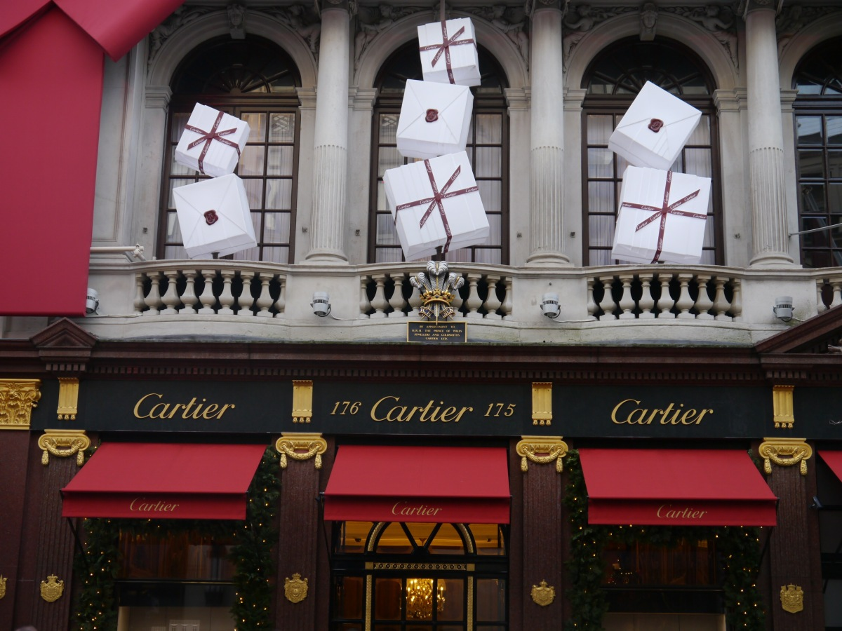 Wrapped Up Again at Cartier