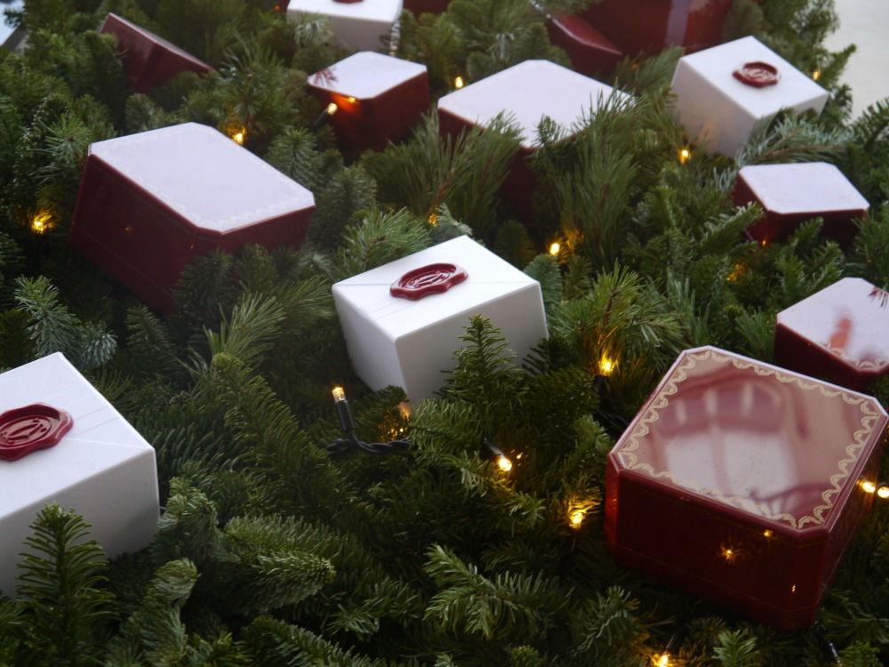 Cartier boxes