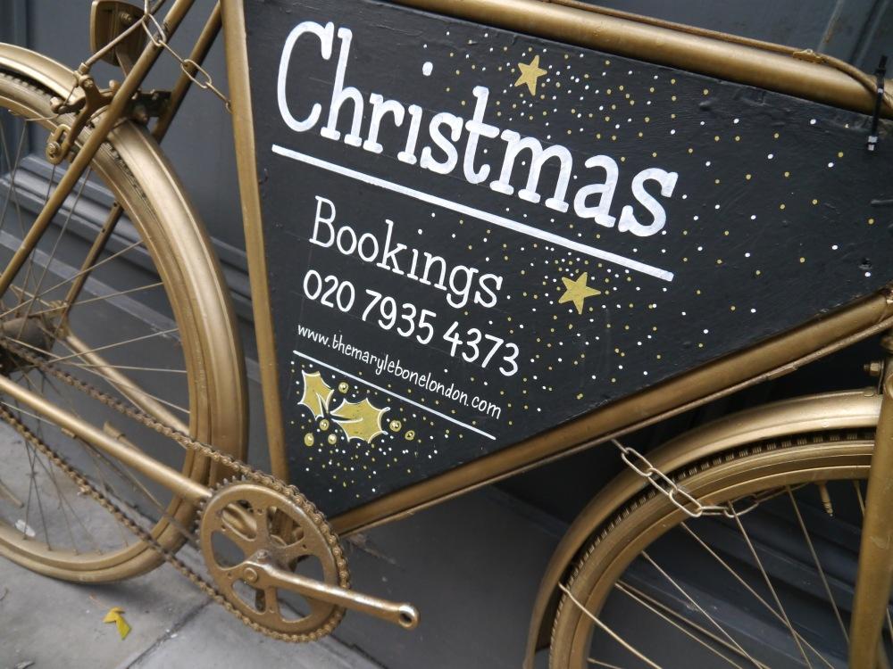Marylebone Pub bicycle