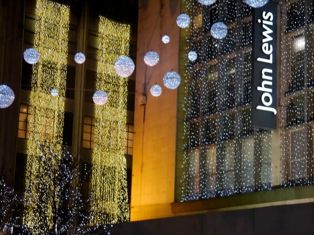 John Lewis corner lights