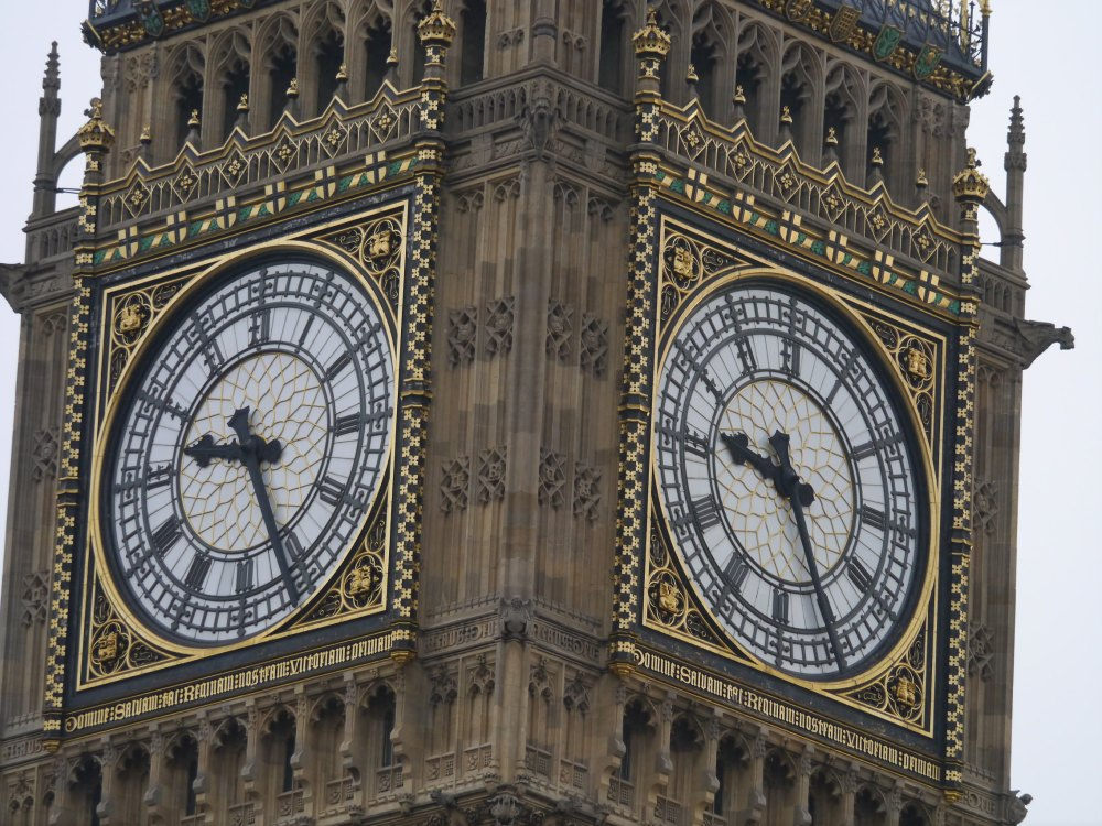 Big Ben 2 clock faces