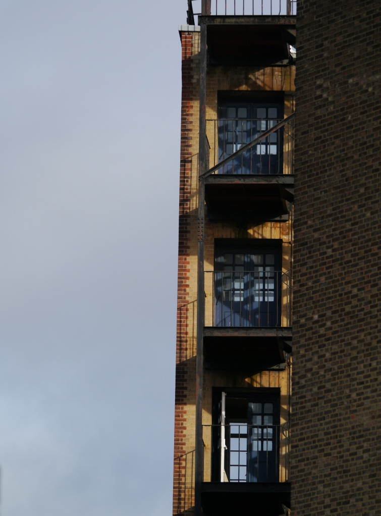 Clerkenwell or Bloomsbury  balconies