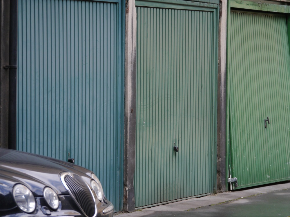 Stables now become garages for cars