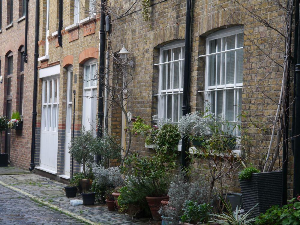 Mews houses in Marylebone