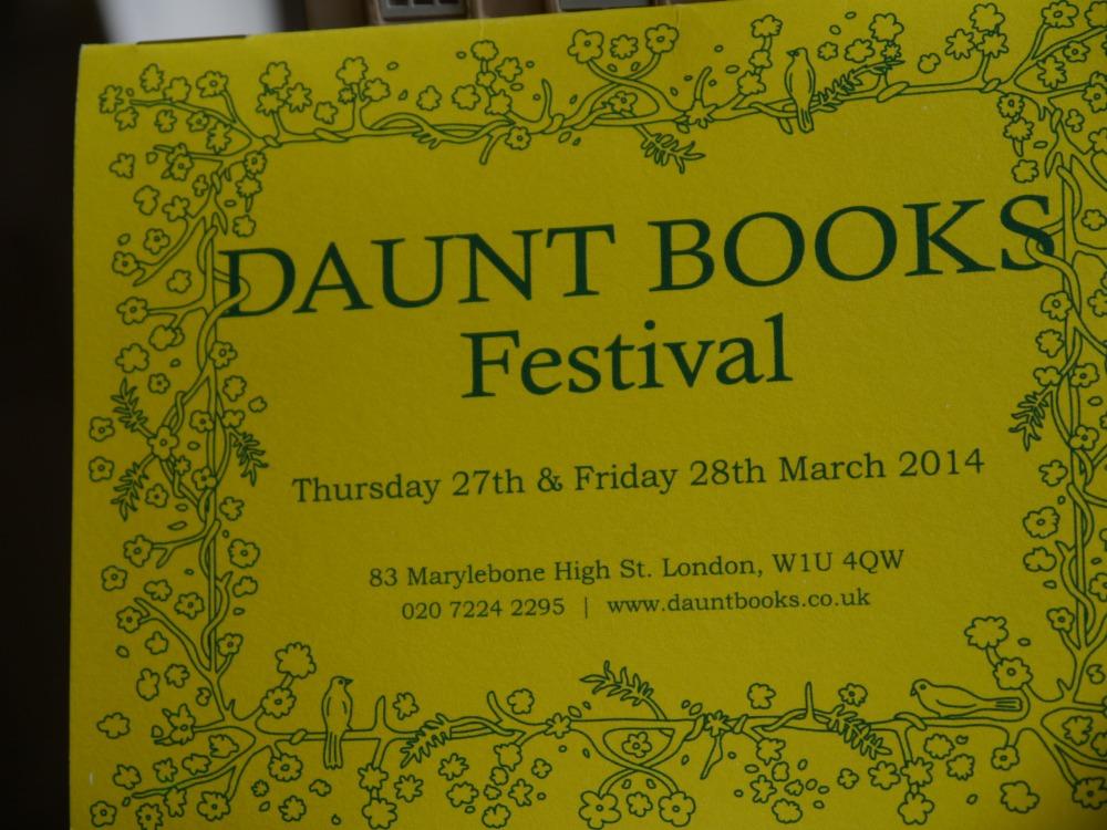 Daunt Books Festival Programme