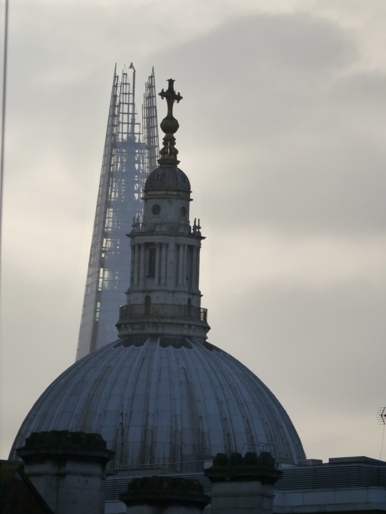 Shard & St Paul's Cathedral