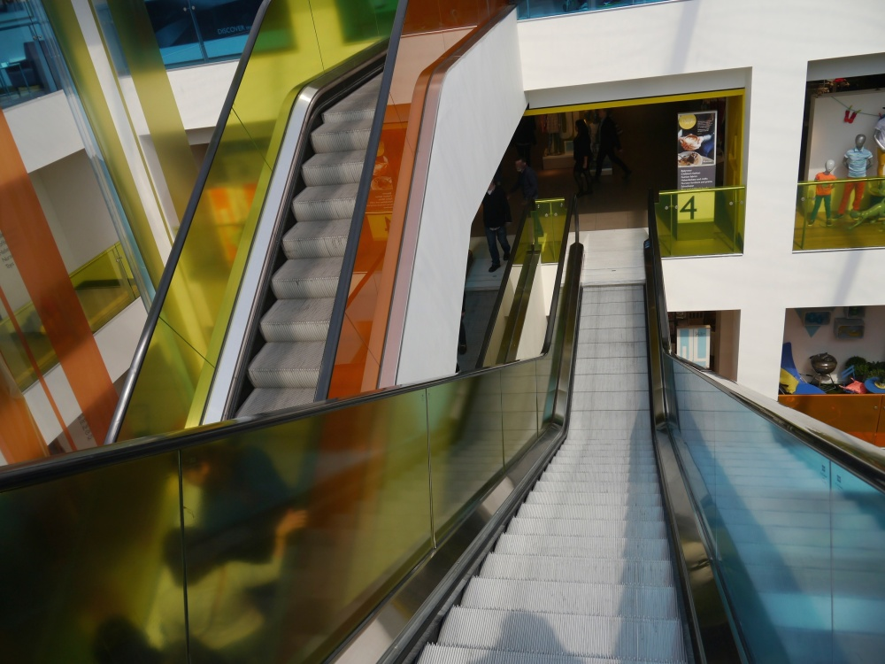 John Lewis escalators