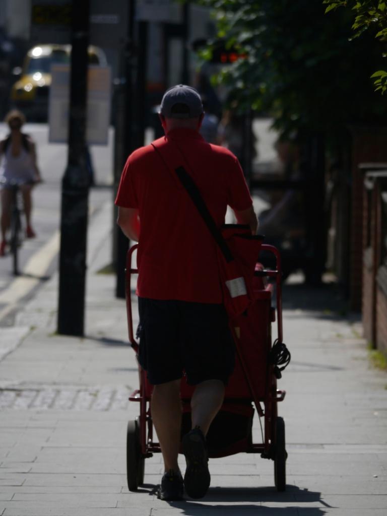 postman on rosslyn hill