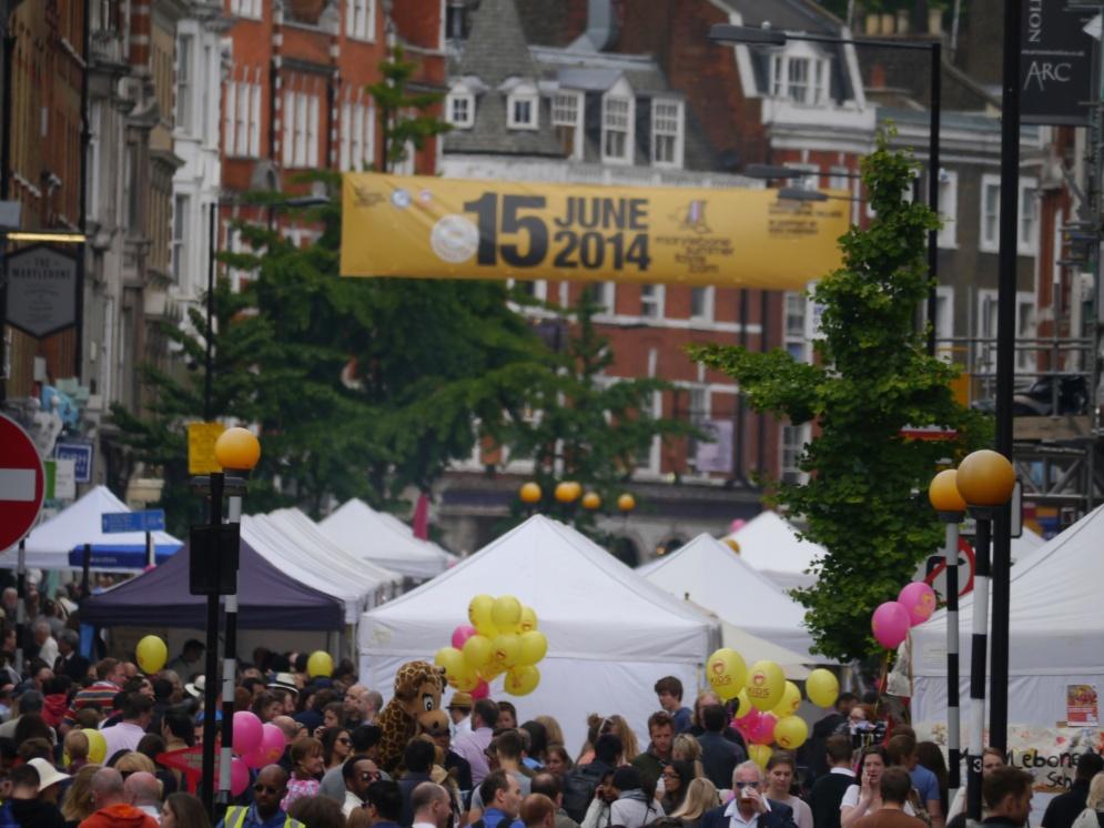 Marylebone Summer Fayre 2014