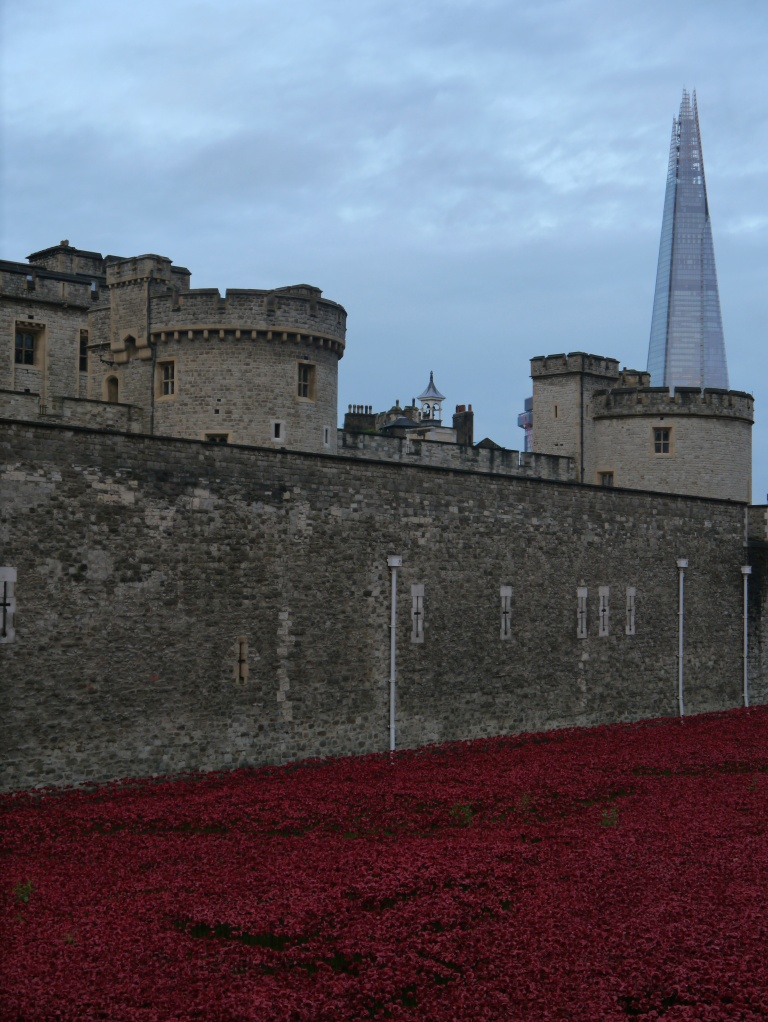 poppies tower and shard