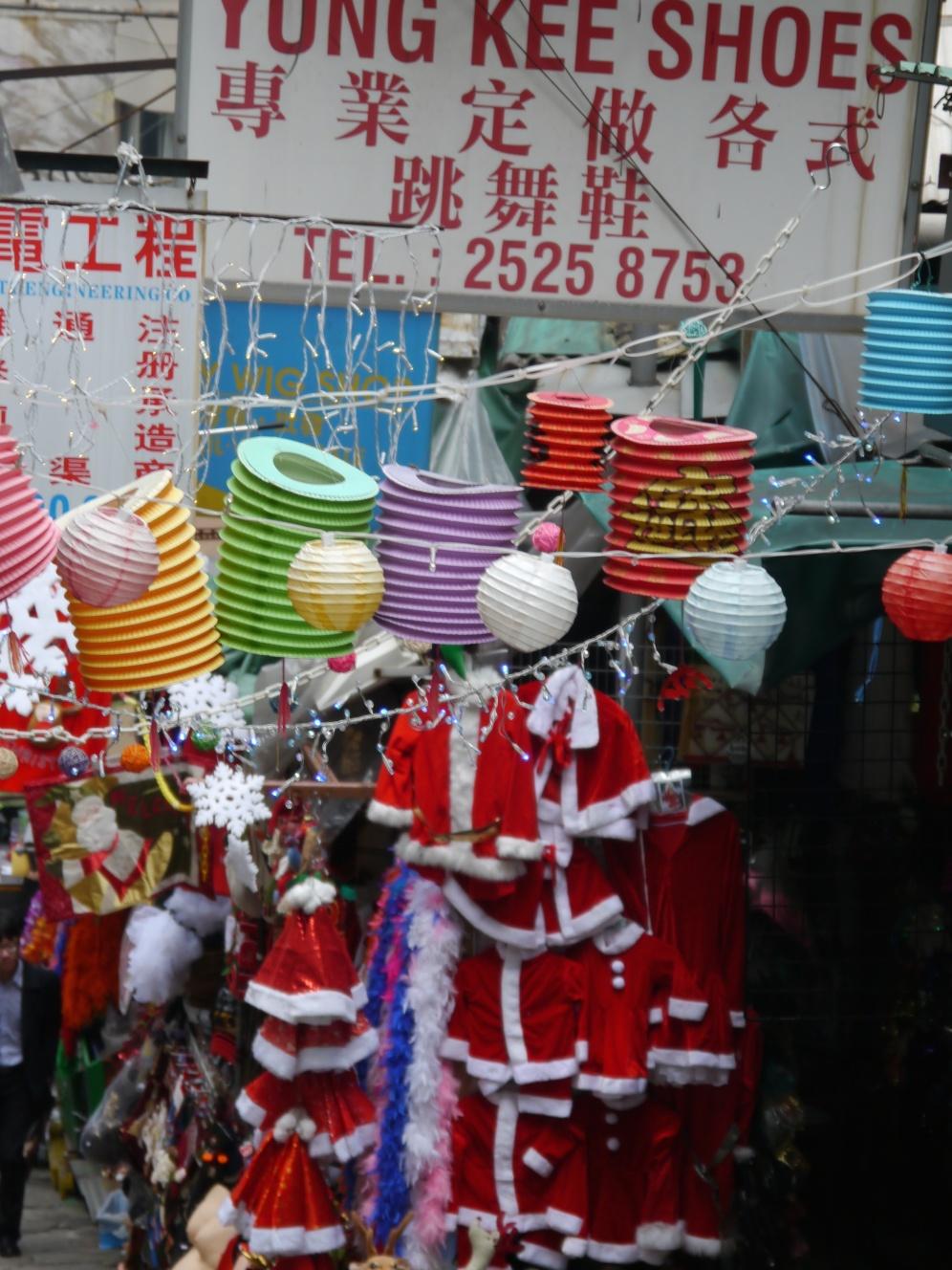 santa clothes HK