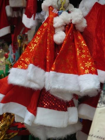 santa hats HK