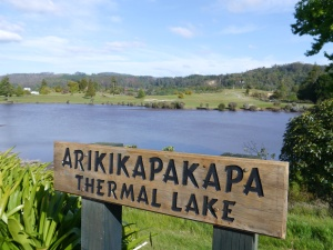 Arikikapakapa Thermal Lake