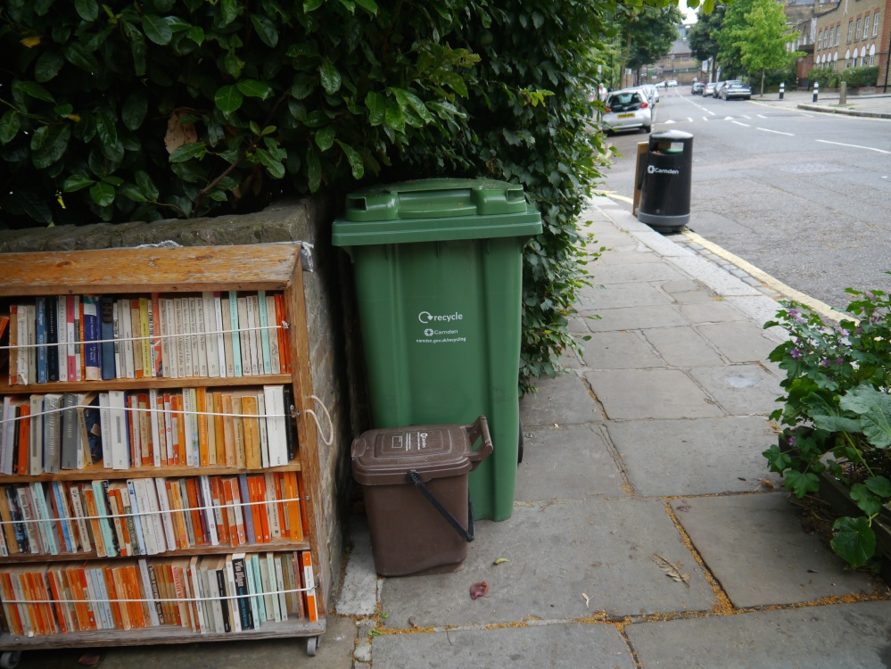 Please don't recycle the books