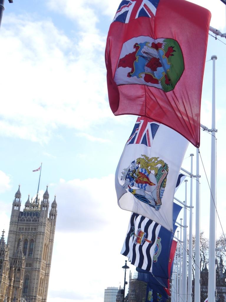 flags of British overseas territories