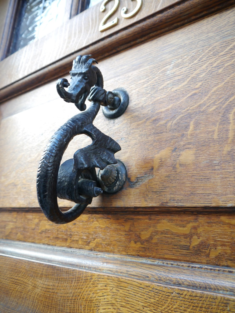 dragon doorknocker