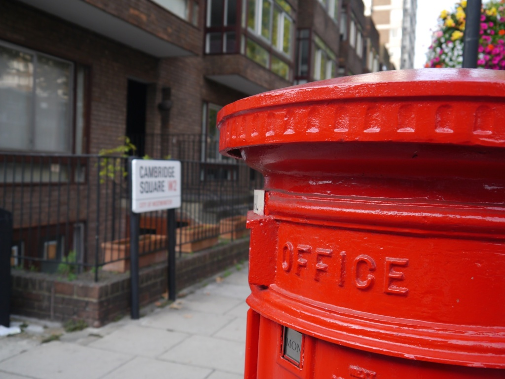 postbox in w2
