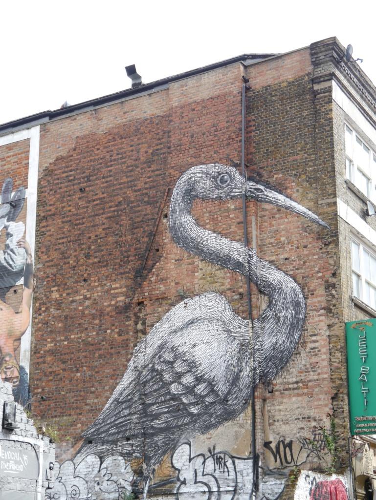Bird on Brick Lane