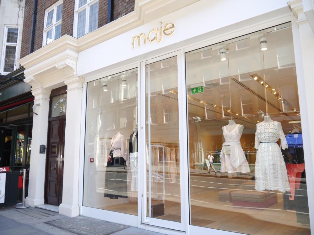 Maje on Marylebone High Street