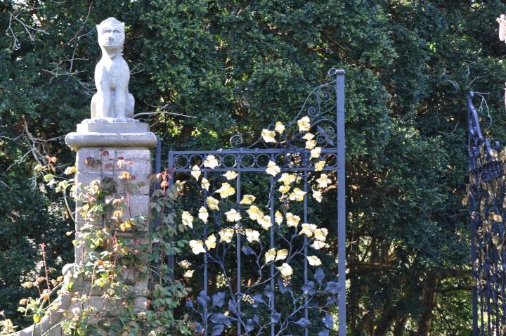Mount Stewart gate