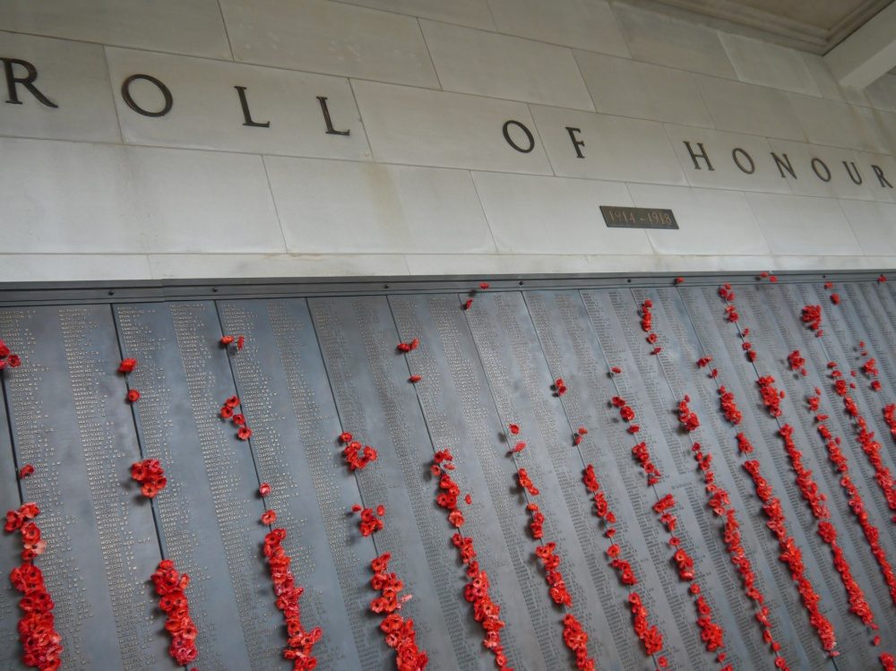 roll of honour Canberra