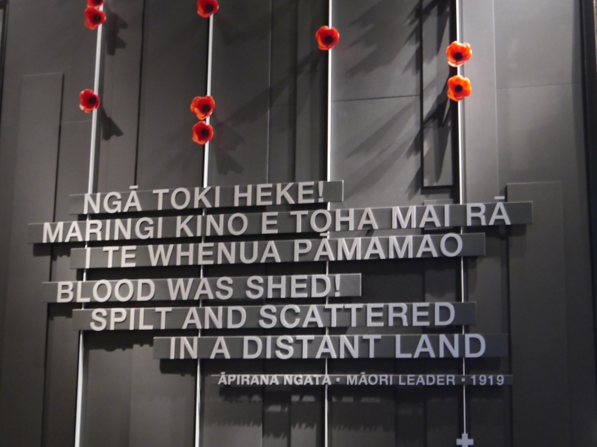 Remembrance of War: New Zealand