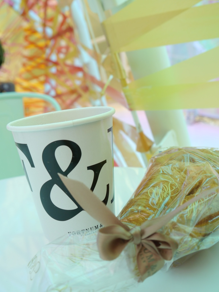 SGP tea and croissants
