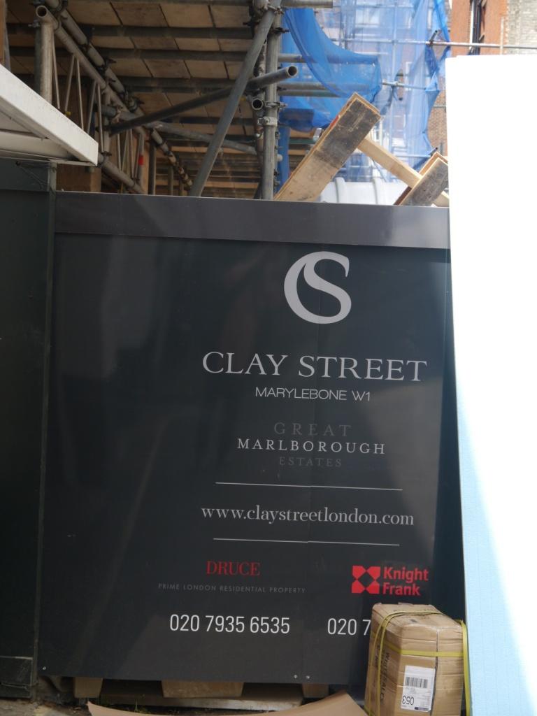 Clay Street scaffolding