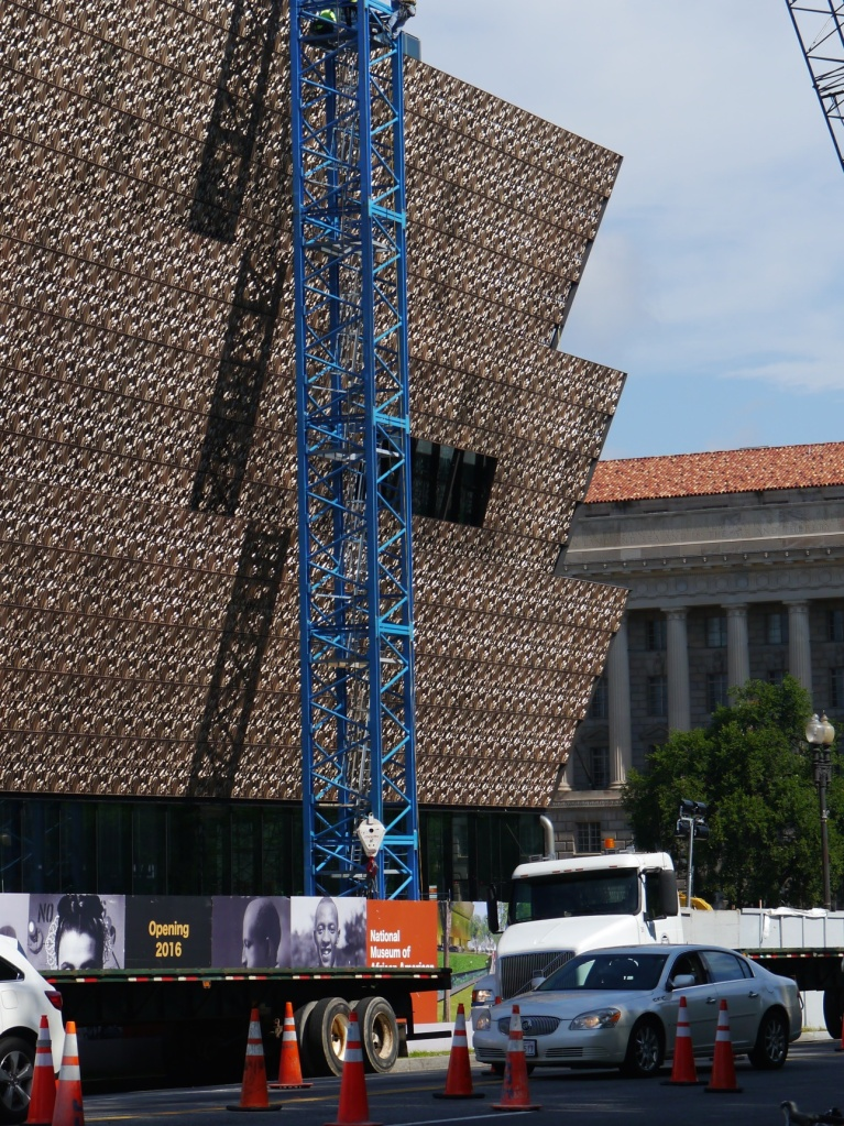 NMAAHC from street