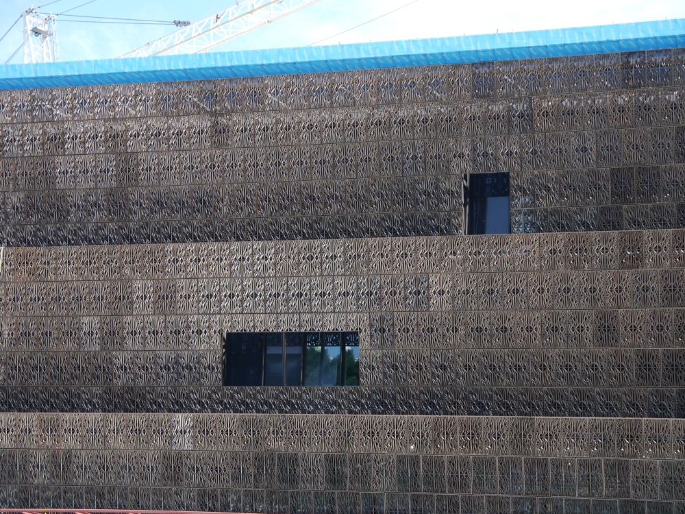 NMAAHC side view
