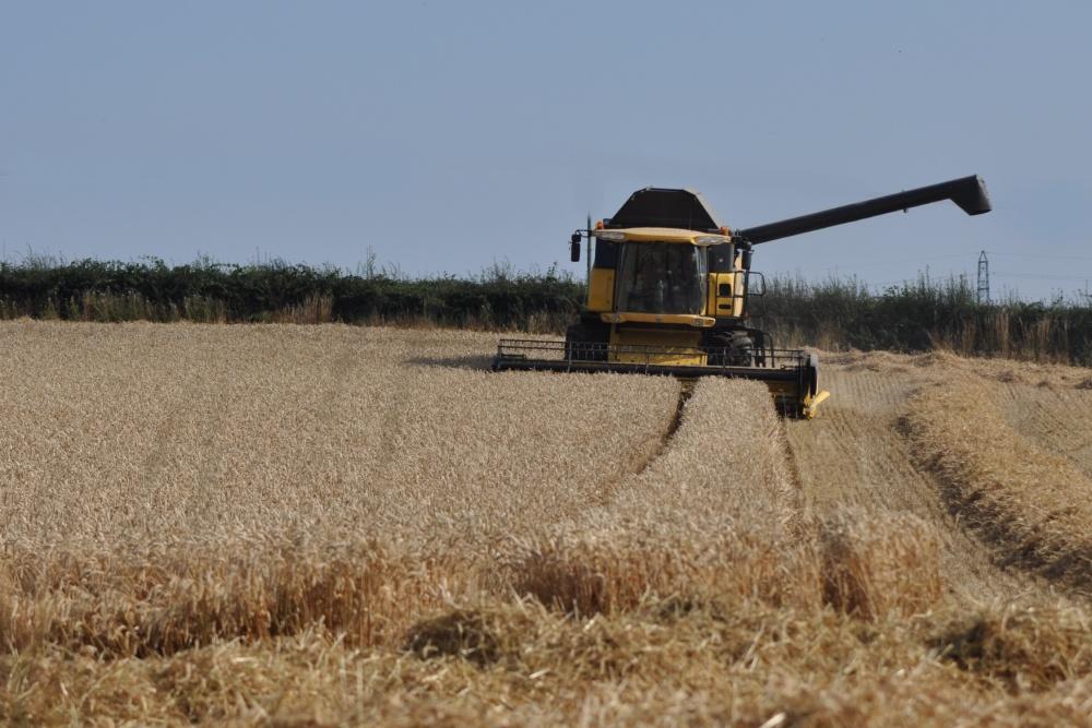 Ballylisbredan combine harvester