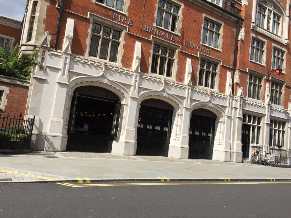 Chiltern Firehouse and street