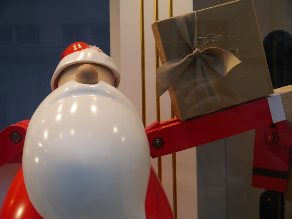 Burberry Santa