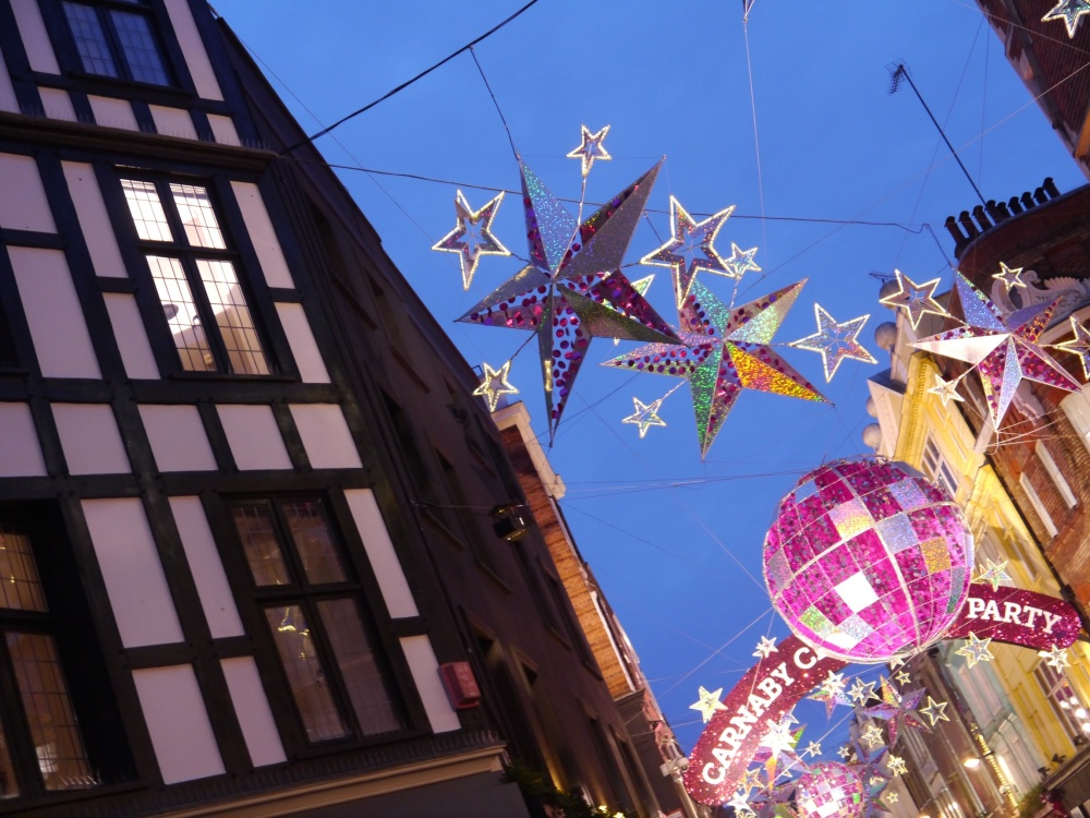 Carnaby Street lights