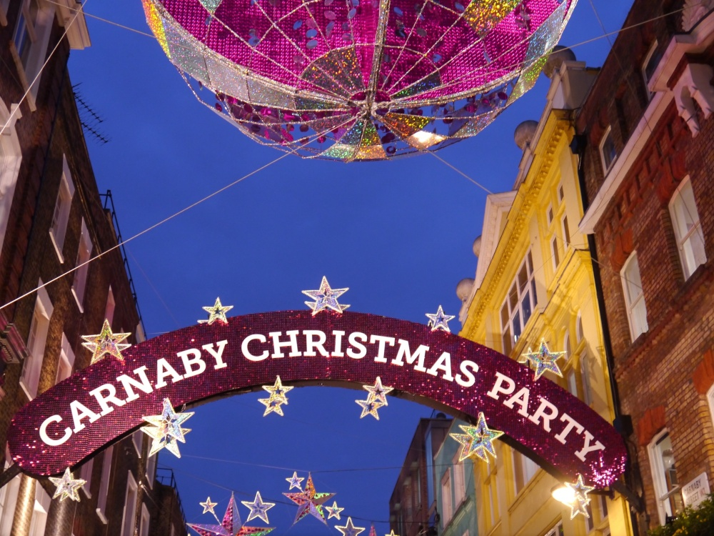 Carnaby Street party sign