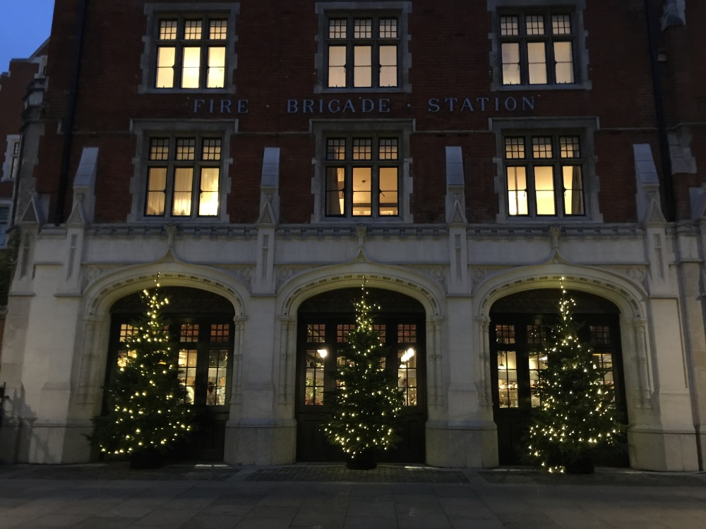 Chiltern Firehouse 3 trees