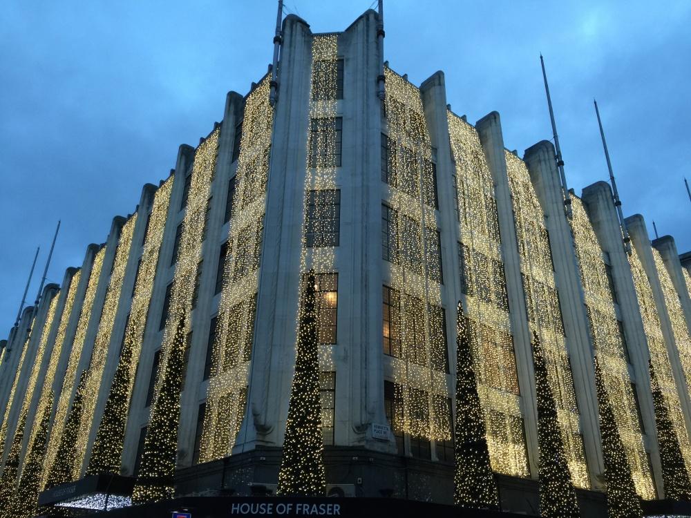 House of Fraser lights (1)
