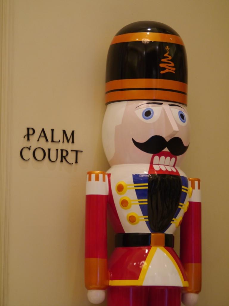 Langham hotel soldier
